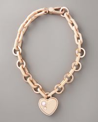 Marc By Marc Jacobs - Heart Charm Necklace - Lyst