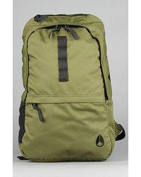 Nixon The Field Backpack in Surplus & Black - Lyst