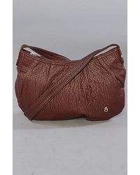 Nixon The Free Bird Lowslung Hobo Bag in Bordeaux - Lyst