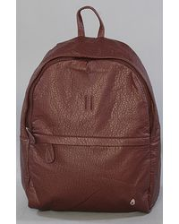 Nixon The Get Back Pack in Bordeaux - Lyst