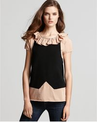 Marc By Marc Jacobs Fosse Color Block Jersey Tee - Lyst
