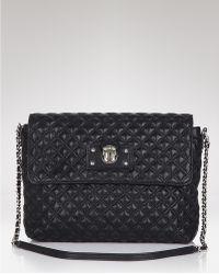 Marc Jacobs Skinny Large Quilted Leather Shoulder Bag - Lyst