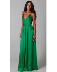 One By - Babs Bibb Maxi Dress - Lyst
