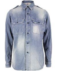 PRPS | P58s08s1 Light Denim Shirt | Lyst