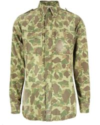 PRPS | P58s08s3 Khaki Shirt | Lyst