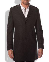 7 Diamonds Sefton Wool Coat - Lyst