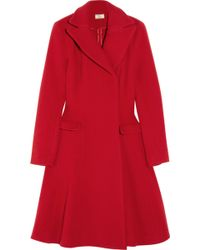 Issa Flared Wool Princess Coat - Lyst