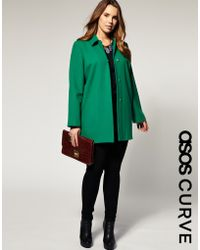 ASOS Collection | Asos Curve 60s Coat | Lyst