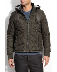 G-Star RAW G-star Vulcan Trim Fit Quilted Hooded Jacket - Lyst