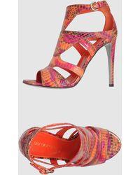 Sergio Rossi High Heeled Sandals - Lyst