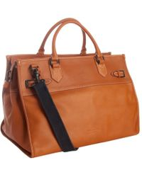 Ben Minkoff - Light Brown Luggage Leather Michael Weekend Bag - Lyst