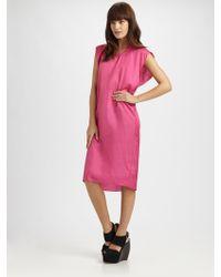 Maison Margiela Sleeveless Dress - Lyst
