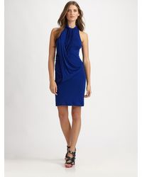 McQ by Alexander McQueen Racerback Ribbed Dress - Lyst