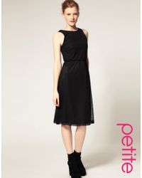 ASOS Collection Asos Petite Lace Midi Dress - Lyst