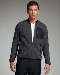 Burberry Sport - Wool-blend Zip Jacket - Lyst