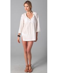Joie - A La Plage Tesha Tunic Cover Up - Lyst