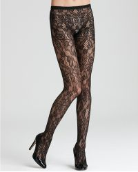Hue Hue Bque Lace Net Tights - Lyst