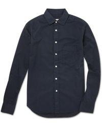 Rag & Bone Yokohama Slim Fit Cotton Shirt - Lyst