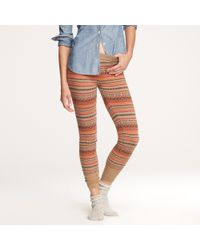 J.Crew Fair Isle Sweater-leggings multicolor - Lyst