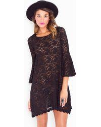 Nasty Gal Faithfull Lace Dress  - Lyst