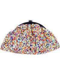 Santi - Multi-sequin Clutch Bag - Lyst