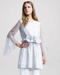Altuzarra Thumbelina Drawstring Dress - Lyst