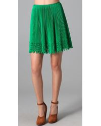 Willow - Broidery Cutout Pleated Skirt - Lyst