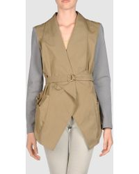 Brunello Cucinelli Full Length Jacket - Lyst
