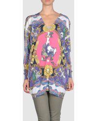 Love Moschino Tie Dye Love Print T-Shirt - Lyst