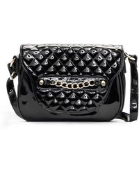 Mango Shiny Messenger Handbag - Lyst
