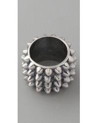 Tom Binns - Punk Pave Cigar Ring - Lyst