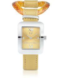 Antica Murrina | Calypso - Murano Glass Link Watch | Lyst