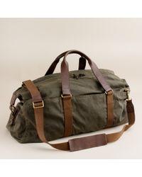 J.Crew Abingdon Weekender Bag - Lyst