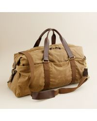 J.Crew Abingdon Weekender Bag khaki - Lyst