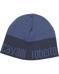Roberto Cavalli Signature Brim Wool Hat - Lyst