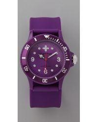 Rumbatime Grapesicle Perry Slap Watch - Lyst