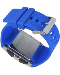 Zoppini - Avatar - Blue Digital Watch - Lyst
