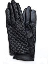 Mango Leather Gloves - Lyst