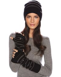 MICHAEL Michael Kors - Fingerless Converter Gloves - Lyst