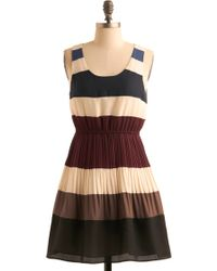 ModCloth Drop A Line Dress - Lyst