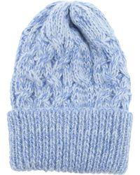Peter Jensen - Cable Knit Hat - Lyst