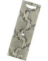 Roberto Cavalli - Textured Stripes Logo Tie - Lyst
