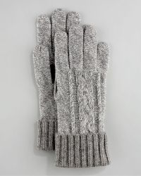 Grandoe | Touch-screen Cashmere Glove, Gray | Lyst