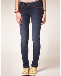 Levi's Levis Curve Id Demi Curve Skinny Jeans - Lyst