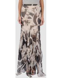 Blumarine Long Skirt - Lyst