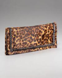 Elie Tahari - Dakota Leopard-print Clutch - Lyst