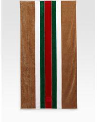 Gucci Beach Towel - Lyst