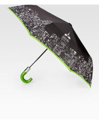 Kate Spade - City Lights Automatic Umbrella - Lyst