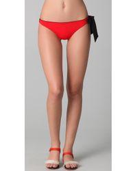 3.1 Phillip Lim - Side Bow Tie Bikini Bottoms - Lyst