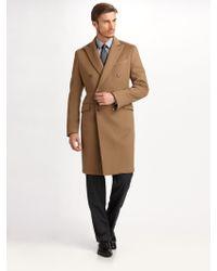 Armani Wool / Cashmere Topcoat - Lyst